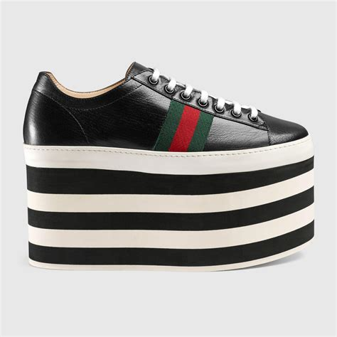 Gucci Knock Off Platform Sneakers