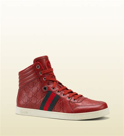 Gucci Leather High Top Sneakers Review