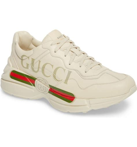 Gucci Logo Design Sneakers
