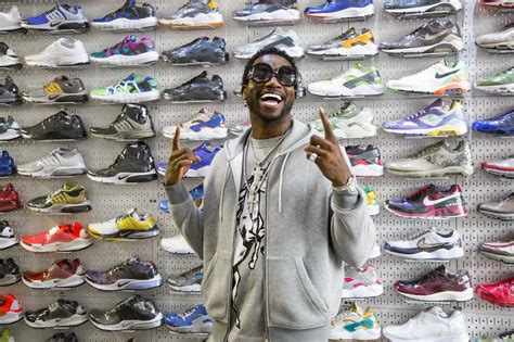 Gucci Mane Goes Sneaker Shopping