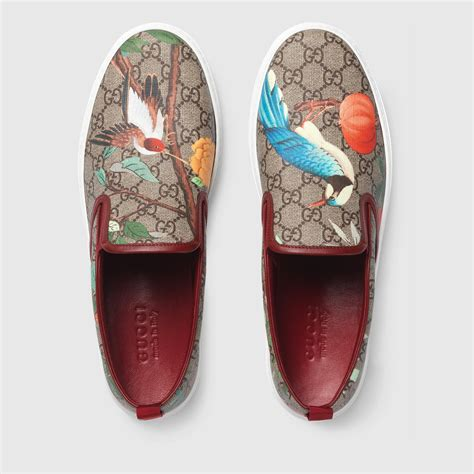 Gucci Mens Slip On Sneakers