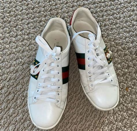 Gucci Pearl Spike Sneakers