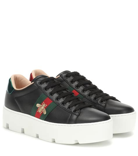 Gucci Platform Sneakers Black
