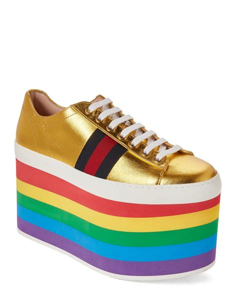 Gucci Rainbow Sneakers