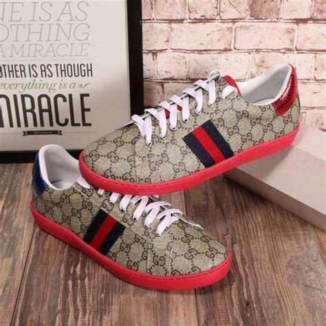 Gucci Red Bottom Sneakers