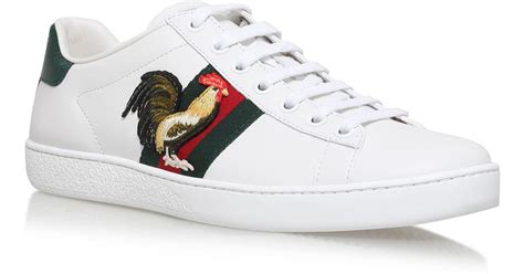Gucci Rooster Sneakers
