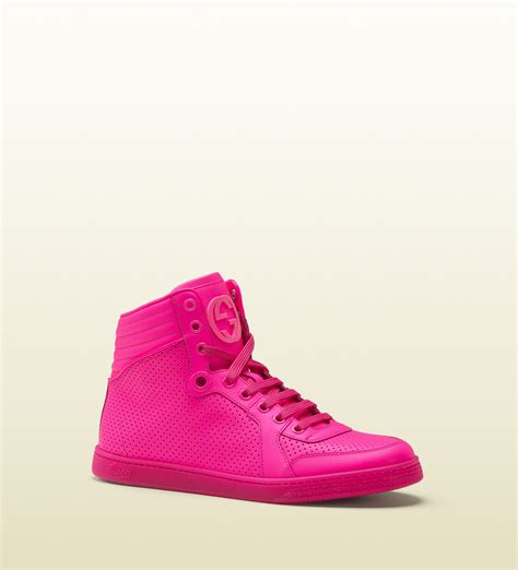 Gucci Shoes Sneakers Pink