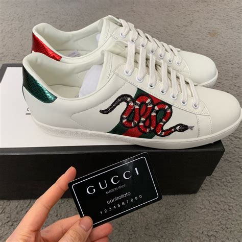 Gucci Sneakere Snake
