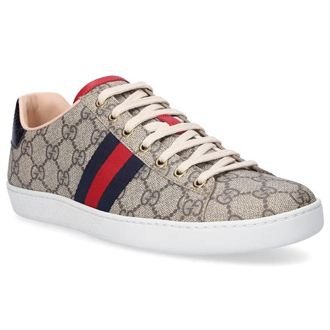 Gucci Sneakers Blue And Red