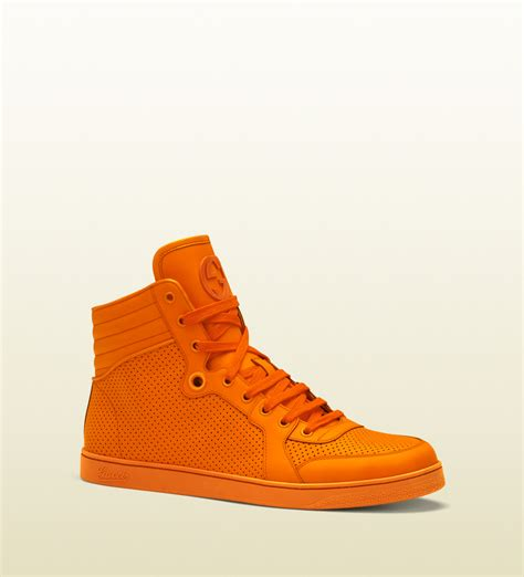 Gucci Sneakers Neon Orange