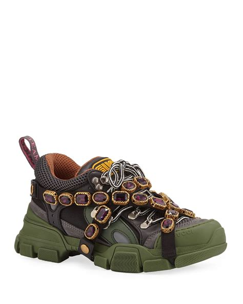 Gucci Sneakers With Chains