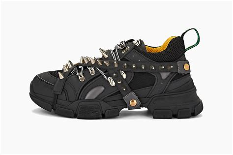 Gucci Spiked Sneakers Black