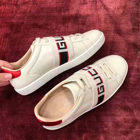 Gucci Star And Stripes Sneakers
