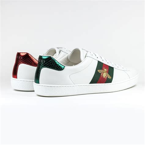 Gucci White Sneaker Ace Bee