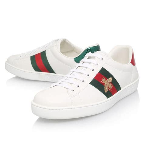Gucci White Sneakers Price In India