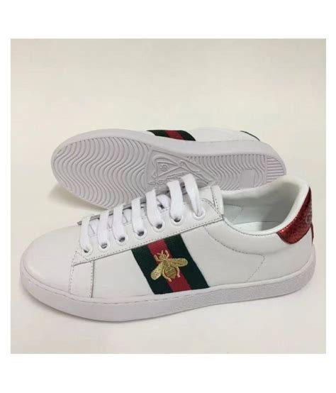 Gucci White Sneakers Vs H&m