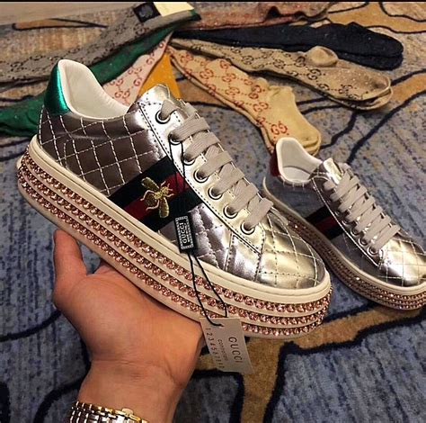 Gucci Women's Sneakers Celebrities