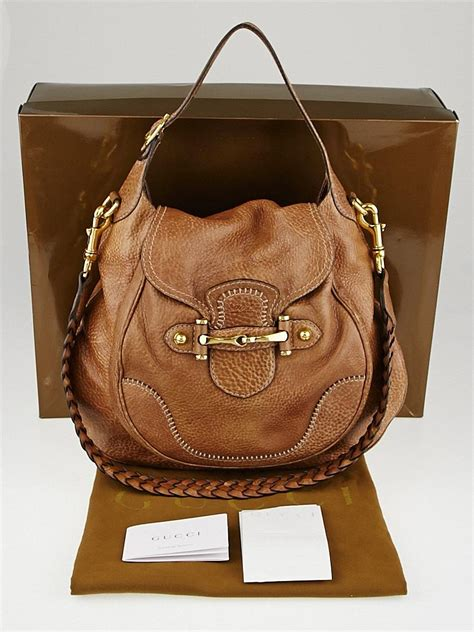 Gucci Brown Leather Bag