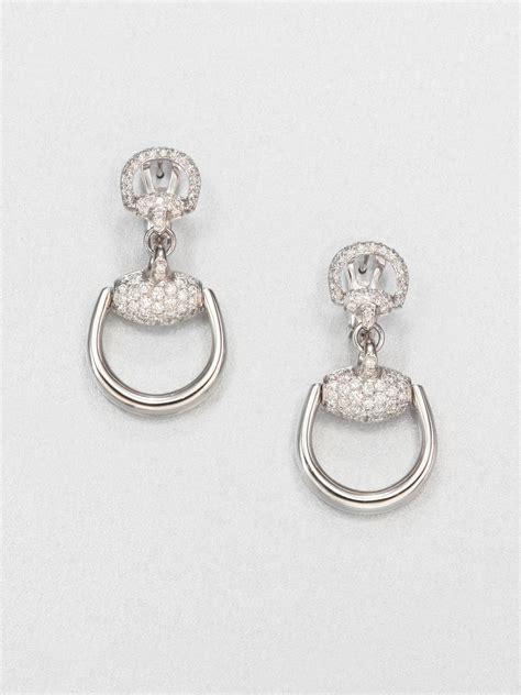 Gucci Diamond Earrings