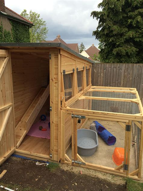 Guinea Pig Hutch Plans DIY Shed