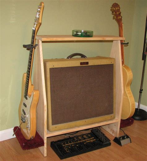 Guitar Amplifier Stand Plans