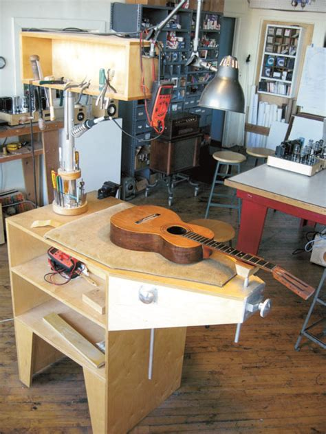Guitar Building Workbench