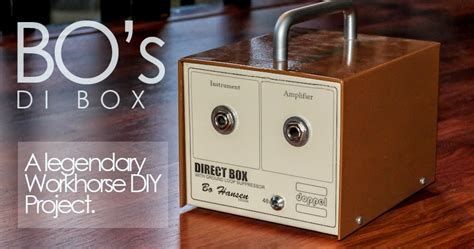 Guitar Diy Di Box