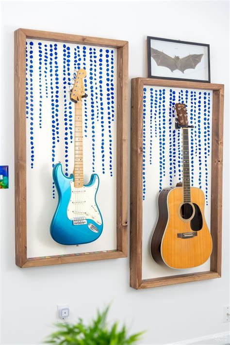 Guitar Frame Diy Disney