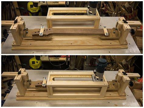 Guitar Neck Shaping Jig Plans