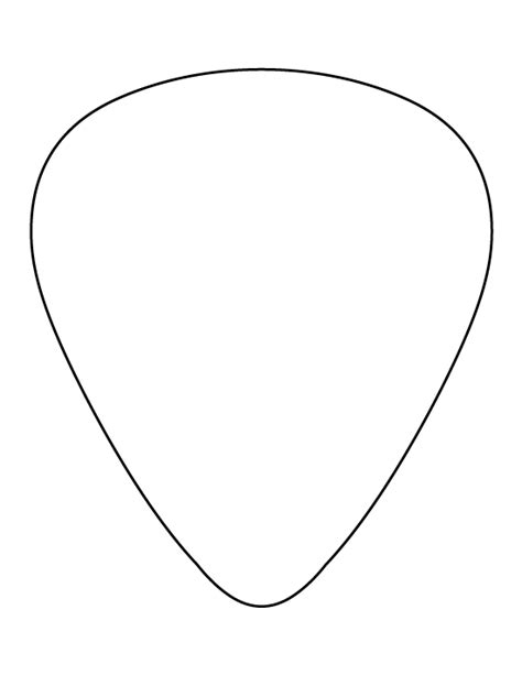 Guitar Pick Pdf Plan