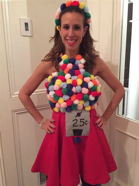 Gumball Machine Diy Costume