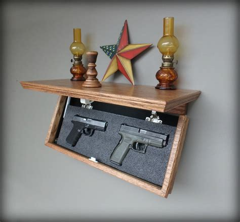 Gun Concealment Shelf Plans