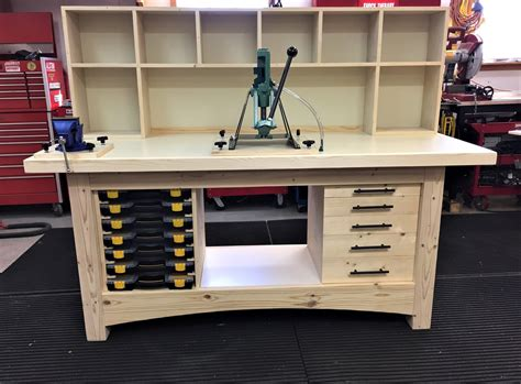 Gun Reloading Workbench Plans