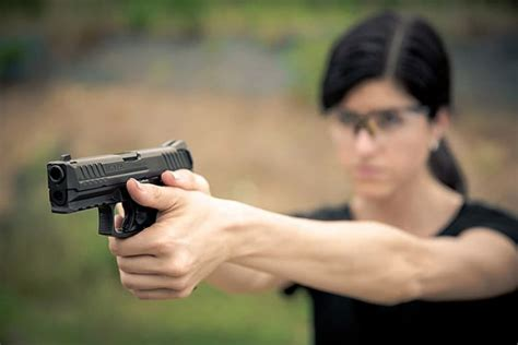 Gun Self Defense From Wemaon And Men Too And How Big A Handgun Do You Need For Self Defense