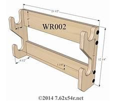Best Gun rack plans woodworking