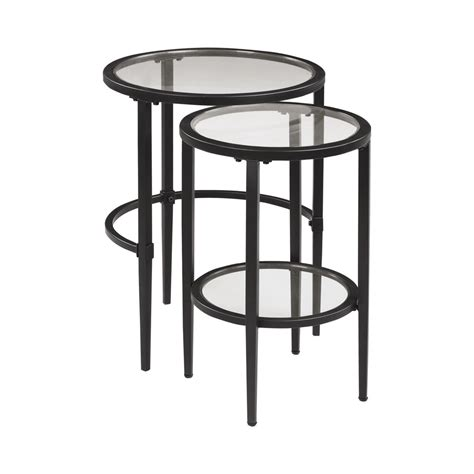 Gunnel 2 Piece Nesting Tables