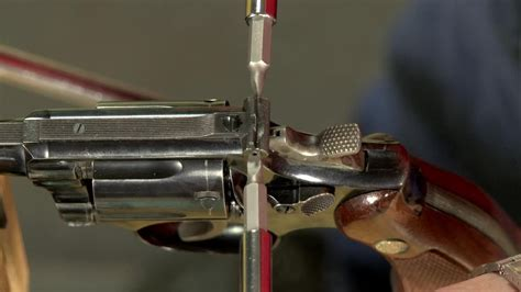 Gunsmithing - How To Install A Rear Sight Blade On A S W .