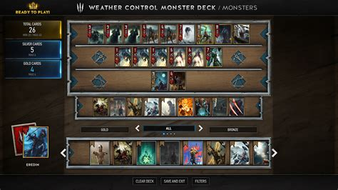 Gwent Build Monster Deck Box