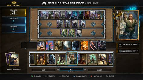 Gwent Deck Building Guide