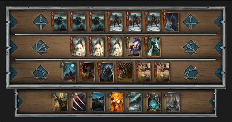 Gwent Monster Deck Build 2018