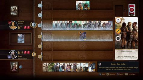 Gwent Monster Deck Build Witcher 3 Review