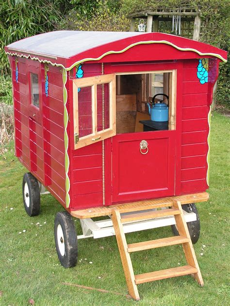 Gypsy Caravan Playhouse Plans