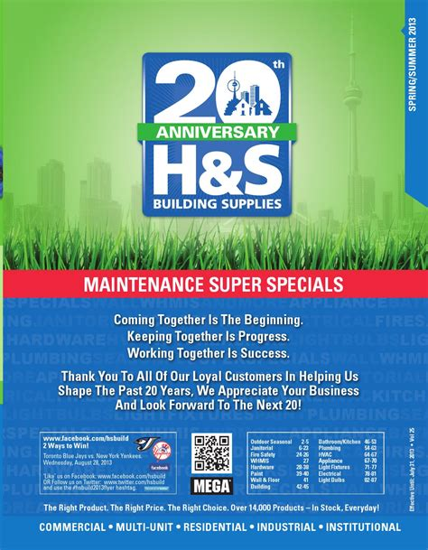 H S Building Supplies By Mediaedge - Issuu.