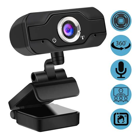 H500 HD 1080P Computer Camera Video Conference, Android TV Built-in Microphone.