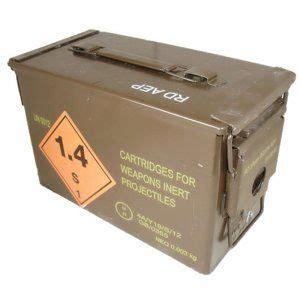 H83 Ammo Box And Large 50 Cal Ammo Can