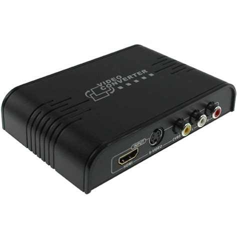 HD Enjoy HDMI to Composite/S-video Converter
