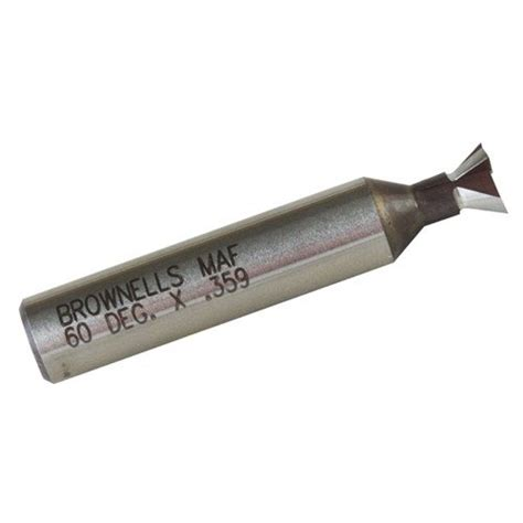 High Speed Steel Standard Sight Base Cutter  - Brownells Se