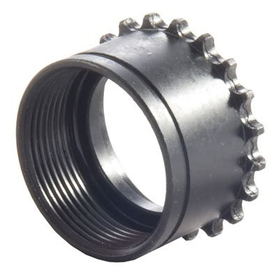 High Standard Ar-15 Barrel Nut Steel Black - Brownells Ch.