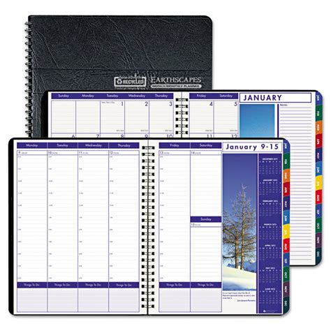 HOD273 - House Of Doolittle Earthscapes Weekly/Monthly Planner