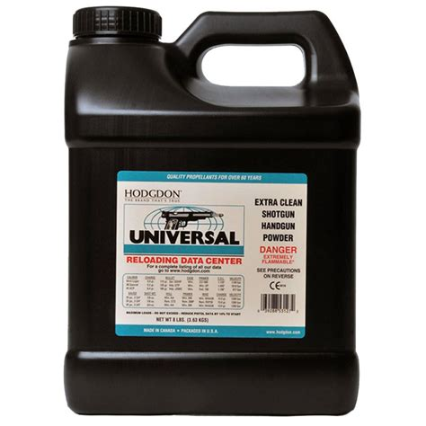 Hodgdon Powder Co  Inc Hodgdon Universal Clays Powder .